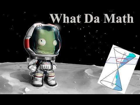 Kerbal Space Program - Mun Landing, Ellipses, Eccentricity and Orbits (Demo version)