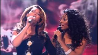 Beyoncé - Listen (Live X-Factor UK 2008) With Alexandra Burke
