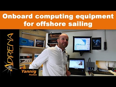 Onboard computing equipment for offshore sailing