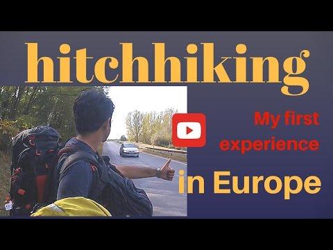 My first hitchhike in Europe (हिंदी में)