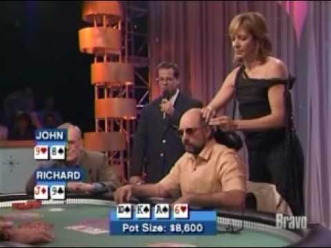 celebrity poker down  Allison Janney is Richard schiff's lucky charm