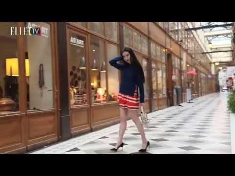China's 'It' Girl XINYUAN ZHANG(张辛苑)Enchanted in Paris@ELLE