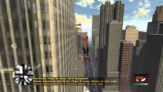 Spider-Man - Web of Shadows - Swinging Gameplay HD