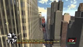 Spider-Man - Web of Shadows - Swinging Gameplay HD