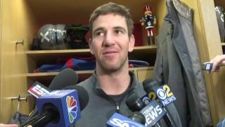Eli Manning Interview | On The Loss And The End Of The Season