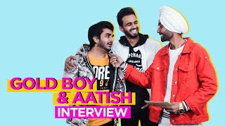 Gold Boy & Aatish nterview at Gaana Crossblade Music Festival | Chandigarh
