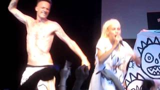 Die Antwoord - Fish Paste (live at Royale Boston 10.26.10)