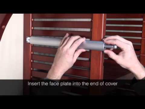 John Louis Home Valet Rod Installation
