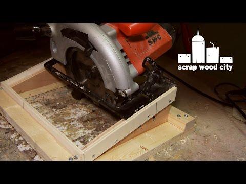 Diy Beehive Handle Making Jig For The Circular Saw Youtube