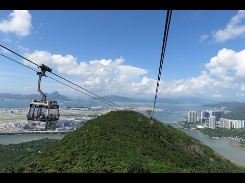 """Téléphérique 2S """"Ngong Ping 360"""" (Hong Kong)"""