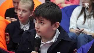 Члены Правительства КЧР провели открытый урок для школьников
