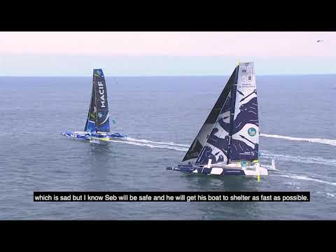 First 24 hours of the Route du Rhum-Destination Guadeloupe