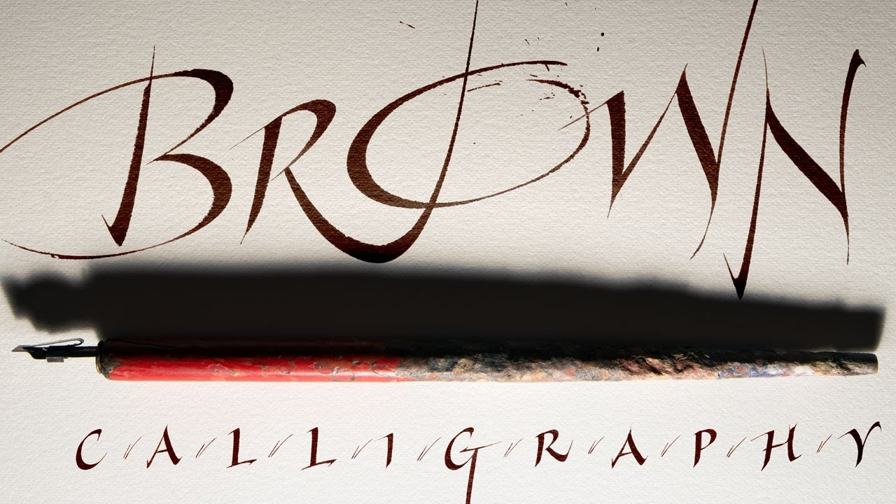 Calligraphy book etsy