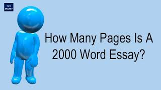 how many words is two pages