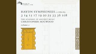 Haydn: Symphony in A, H.I No.14 - 3. Menuetto e Trio - Allegretto