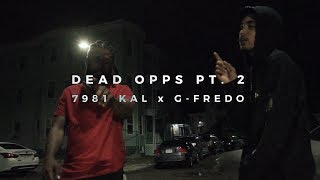 7981 Kal Ft. G Fredo - Dead Opps pt. 2 (Official Music Video)