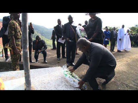 Sierra Leone remembers victims of deadly mudslide