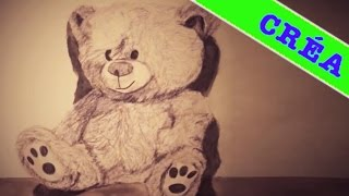 Comment dessiner un nounours ? Speed drawing Ted