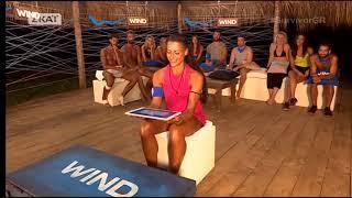 Survivor: Η Μελίνα Μεταξά στο έπαθλο επικοινωνίας (20/3/2018)