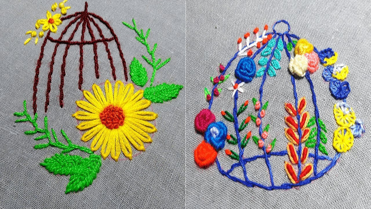 20 Cute Hand Embroidery Design,Beautiful Embroidery Patterns,Secrets of  Embroidery 20, StayHome