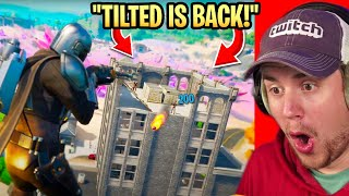 Fortnite Season 5 Gameplay + BattlePass! TILTED TOWERS IS BACK! (Reaction)
