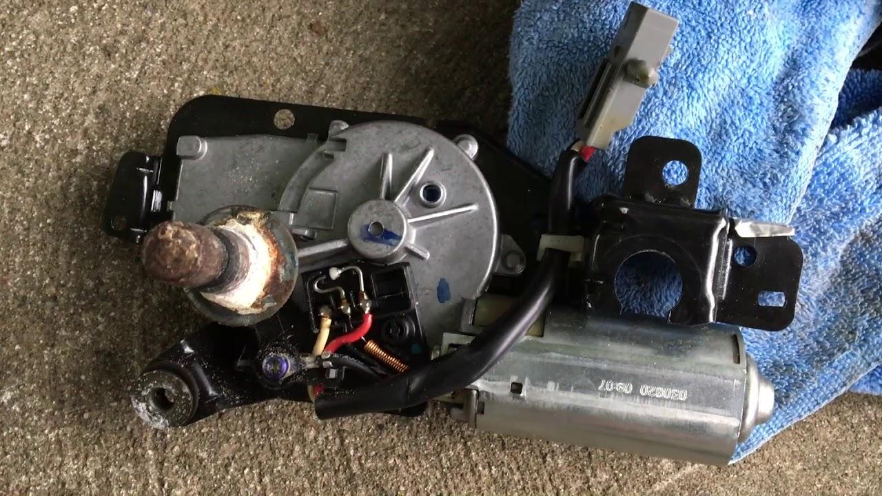 Ford Escape Rear Wiper Motor Replacement