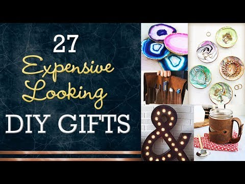 27 Cheap DIY Gifts - Expensive Looking DIY Christmas Gift Ideas