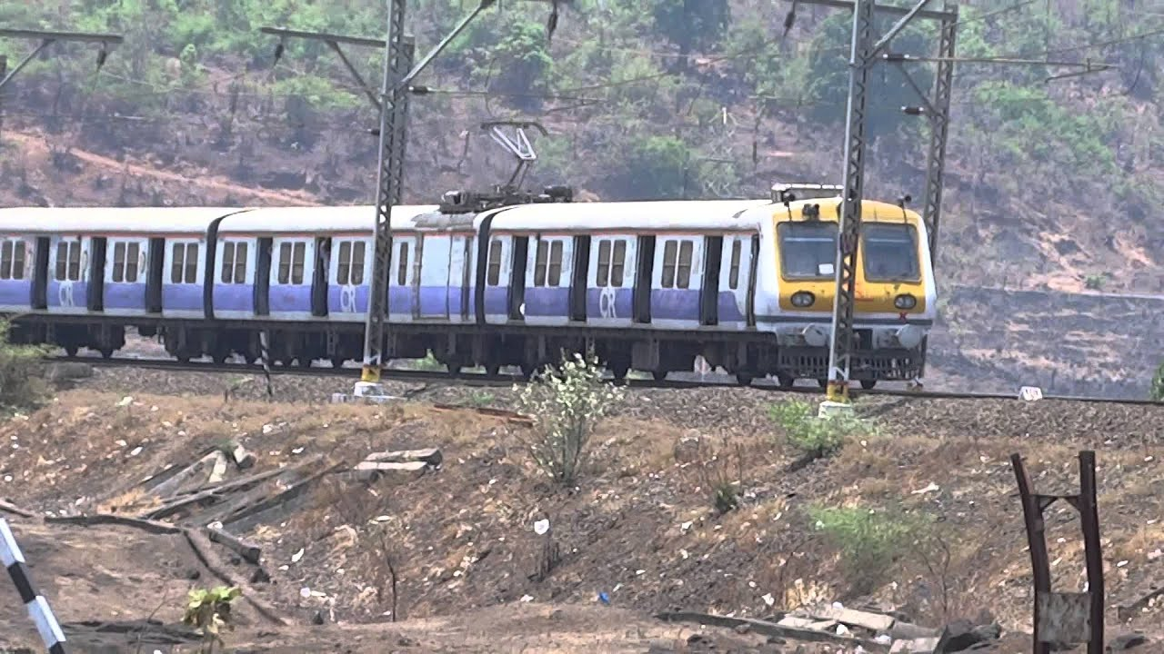 Entire local train captured on the amazing Kasara curve - YouTube for Kasara Railway Station  193tgx