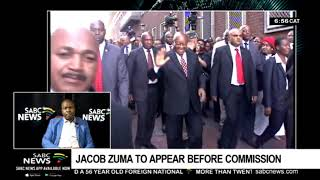 Former president Zuma to appear before Zondo Commission