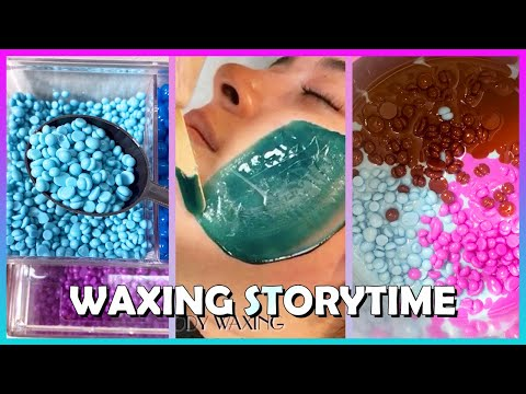 Satisfying Waxing Storytime #48 The evil man in the convenience store ✨😲 Tiktok Compilation