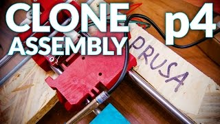 Prusa i3 MK2 3D printer clone live assembly: p4, Wiring and Printbed (mechanics finished!)