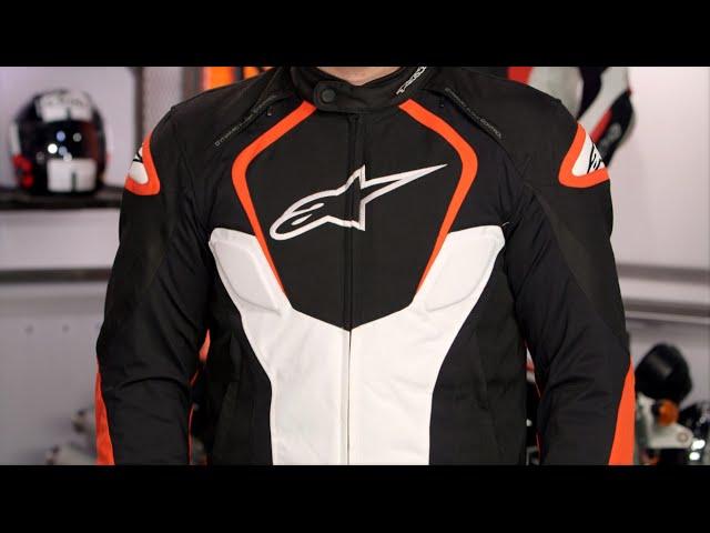 Motorcycle jackets Alpinestars T-jaws V3 Waterproof Jacket Black Red Fluo M BLACK//RED//FLUO