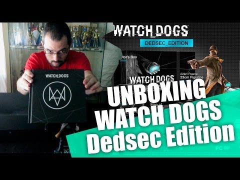 UNBOXING | Watch Dogs Dedsec Edition - PS4