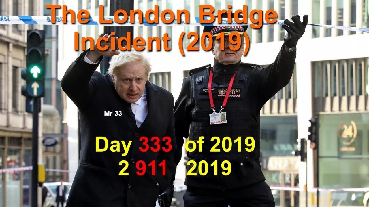 London Bridge Incident 2 911 2019