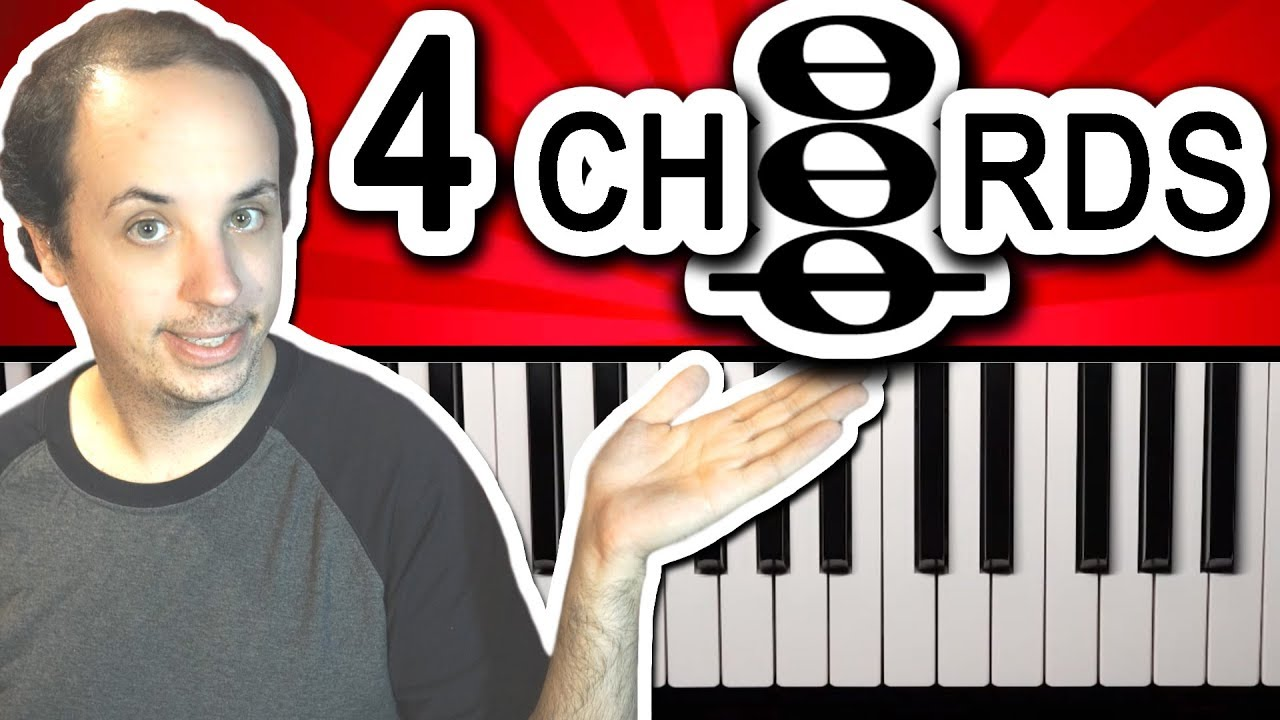 How To Play The 4 Chords Used In Hundreds Of Popular Songs Youtube