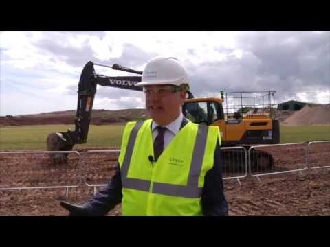 Viridor Dunbar Energy Recovery Facility (ERF) Golden Shovel July 2015