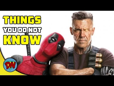 5 Things You don't Know About Cable | Deadpool 2  | Explained in Hindi
