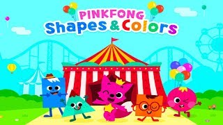 Pinkfong Shapes & Colors - Shapes & Colors with Activities - Fun Animated Learning Videos