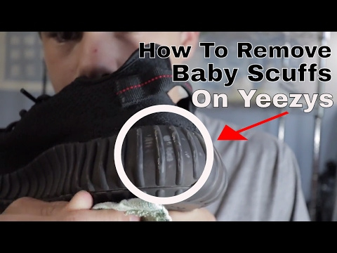 """How To Remove """"Baby Scuffs"""" Off Of Yeezy 350 V2s!!!"""