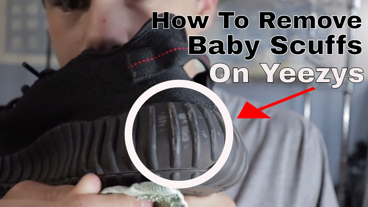 ... how to remove baby scuffs off of yeezy 350 v2s you ... 84a53061d