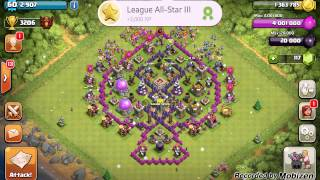 Clash Of Clans - Finally A Champion! | Reaching Champion League As A Town Hall 7