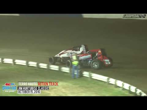 Highlights: USAC AMSOIL National Sprint Cars at Terre Haute 10/15/16
