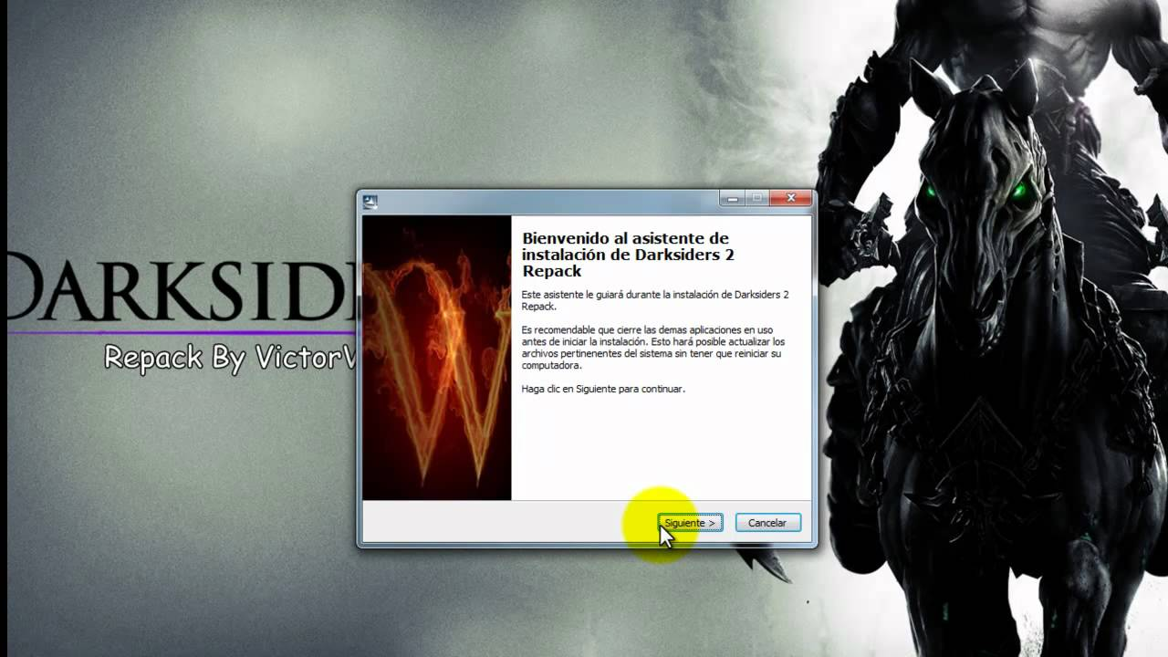 Descargar e instalar darksiders 2 full pc espa ol youtube - Descargar darksiders 2 ...