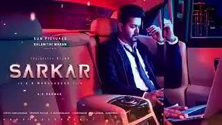 Sarkar First Look Title Theme Mass Bgm.in♐