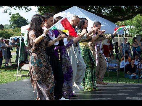 Nashville, Tennessee - Cultural Festival - Kurdish 10-5-2013 Rande Production