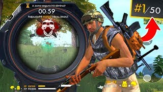 PRIMEIRA PARTIDA NO FREE FIRE E OLHA OQUE EU FIZ - Gameplay Garena Free Fire