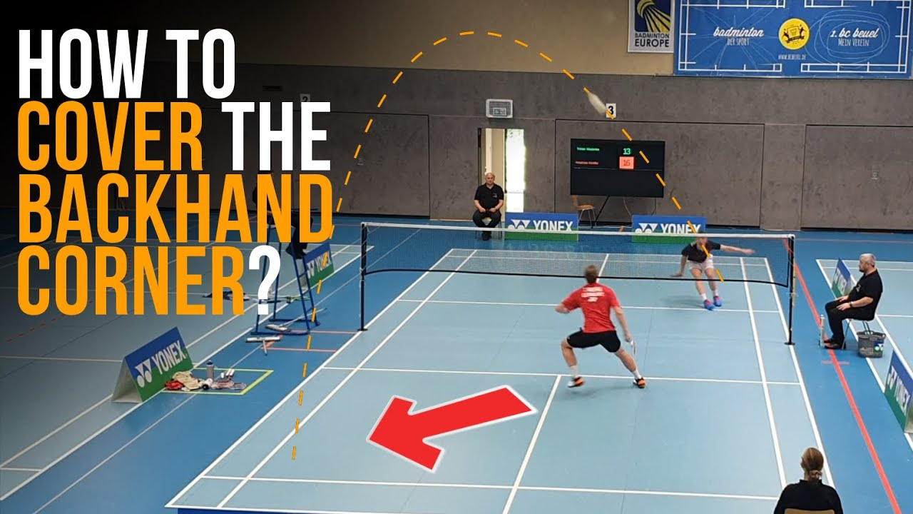 Rear Court Footwork: How to cover the Backhand Corner and hit with Forehand
