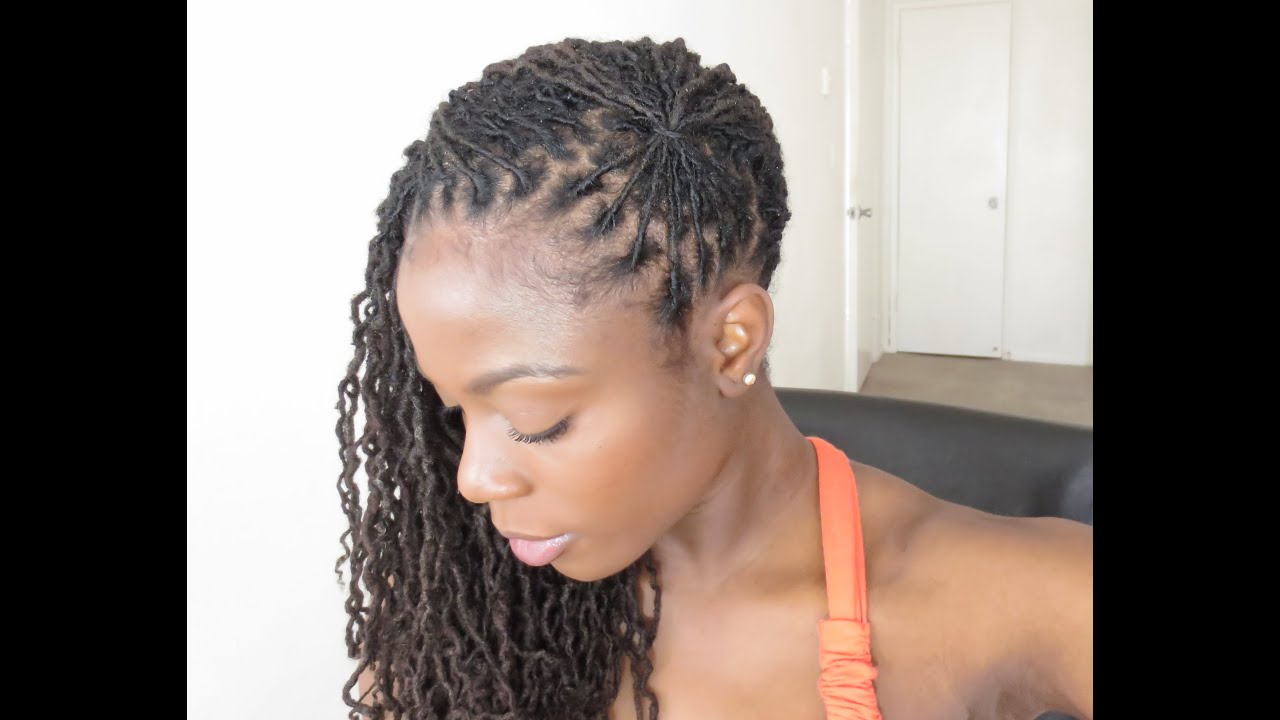 L Hairstyle: Loc Hairstyle Tutorial The Fan/Jungle Barbie