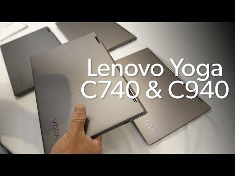Lenovo's fall 2019 Yoga lineup