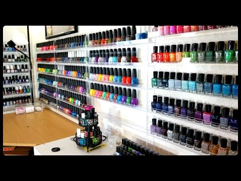 EPIC Nail Polish Collection & Storage!!!